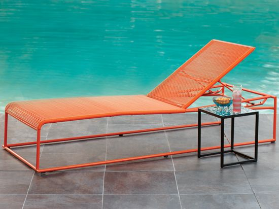 Plummers - $499 Brighten your outdoor space with our new Smart Loungers. Modern & lightweight and stylish, perfect poolside or on the deck. Features a stainless steel frame with adjustable back. Adjusts from 13.75