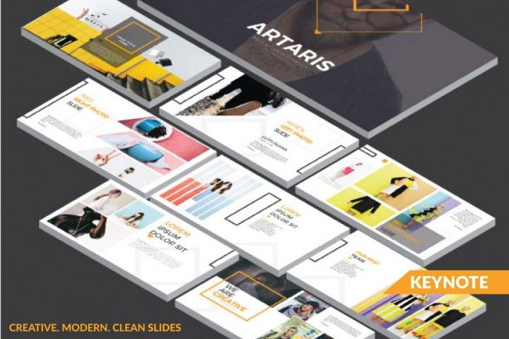 ARTARIS Keynote Template By Rits Studio