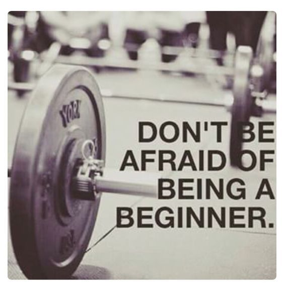 Everyone was once a beginner. #fitfam #fitspo #workout #exercise