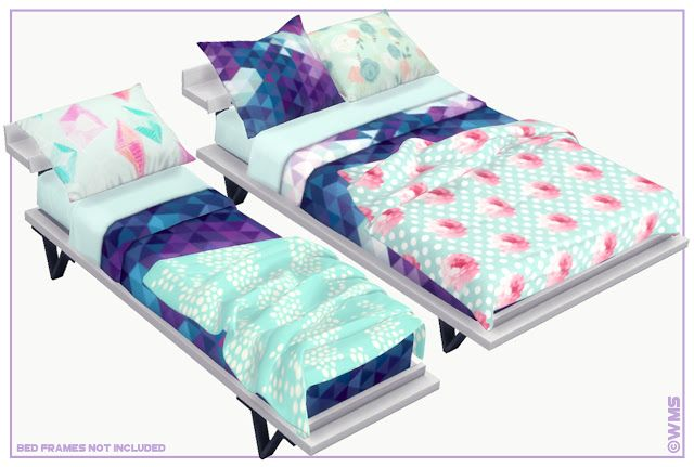 Elysian Bedding I By Wms Via Blogspot I Sims 4 I Ts4 I