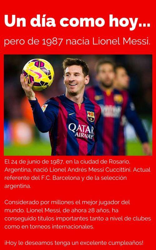 ¡Messi hoy festeja su cumpleaños número 28! - #Cultura, #Datoscuriosos  http://www.vivavive.com/messi-hoy-festeja-su-cumpleanos-numero-28/
