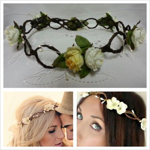 Floral Headbands: Bride and Flower girl | The Perfect Day 2 | The Perfect Day