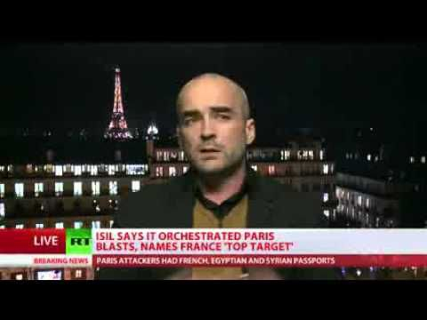 **PLEASE WATCH THIS!! ** If you only watch this one short video it will change your view of the world! Political YouTube author Gearoid O Colmain discusses the Paris attacks with RT International - YouTube