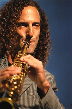 Kenny G.  Love his smooth Jazz tones