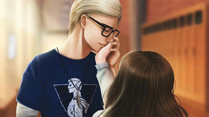 Momento romántico de Henri y Lyla