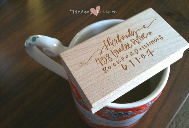 beautiful customized address stamps from Lindsay Letters.: Lindsayletters Stamp Main, Address Rubber, Address An Envelope, Gift Ideas, Return Address Stamps, Products, Rubber Stamps, Von Lindsayletters