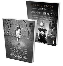 Kit Livros - O Orfanato da Srta. Peregrine Para Crianças Peculiares +  Cidade Dos Etéreos