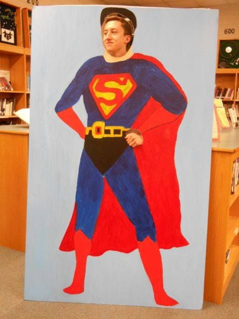 Mayo High School in Darlington, SC hosted its annual Read a Latte' for Teen Read Week. The TRW theme this year is Seek YOUR Unknown Power @ Your Library. Students can pose as their favorite Super Hero. All students checking out books this week also get a bookmark and a small prize. The grand finale of the week is a Superhero Costume contest. The winner receives a book and a goody bag.