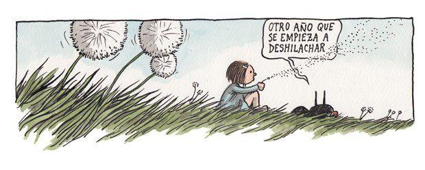 Enriqueta y Fellini - Liniers, seudónimo de Ricardo Siri (Buenos Aires, 15 de noviembre de 1973), es un historietista argentino conocido por ser el autor de Macanudo. #Humor