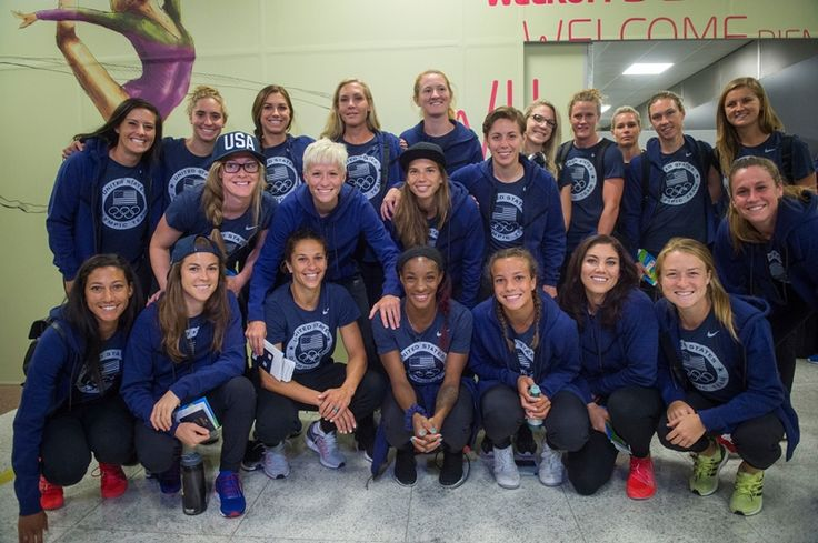 After almost 24 hours of travel, the  U.S. WNT touched down in Belo Horizonte full of excitement to kick off the 2016 Olympic Games against New Zealand.
