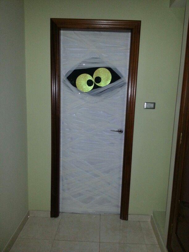 Puertas de halloween halloween pinterest puertas y for Puertas de halloween decoradas
