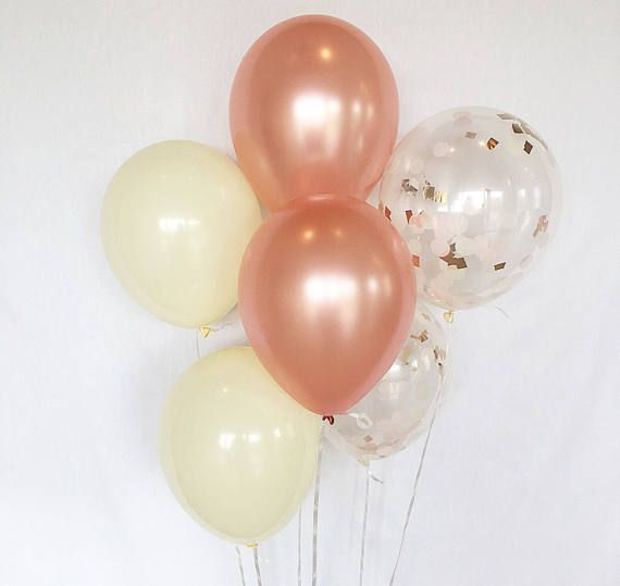 Hey, I found this really awesome Etsy listing at https://www.etsy.com/listing/522047235/rose-gold-confetti-balloons-rose-gold