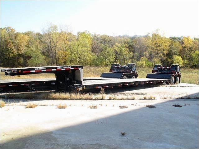 Our featured Lowboy Trailer is a 2005 Trail King, 40 Ton