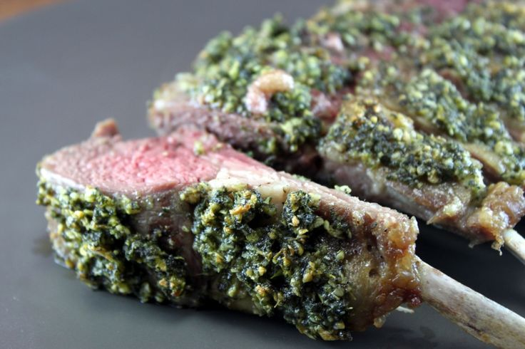 ... herb crusted lamb chops recipes yummly 10 best herb crusted lamb chops