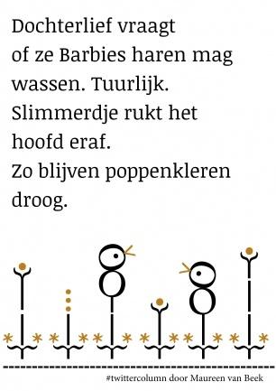 Haren wassen (#twittercolumn, 2012)