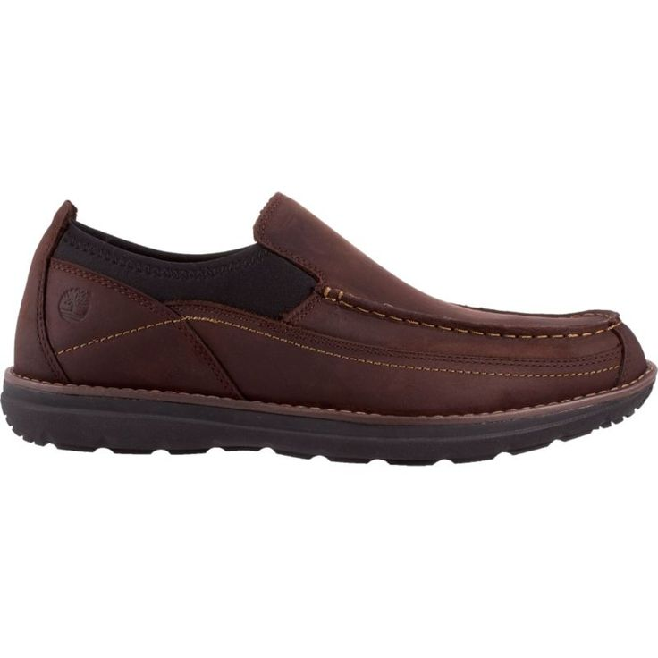 Timberland Men's Barrett Park Moc Wide Casual Shoes, Brown