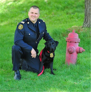 The Calgary Fire Department has a new member on duty