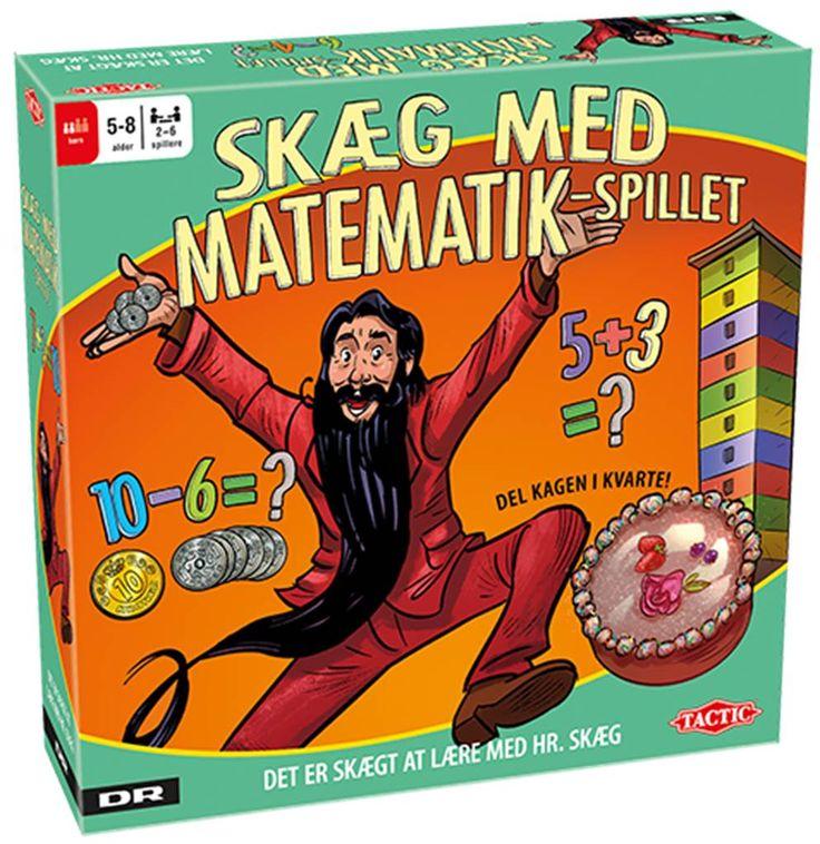 Skæg med Matematik-spillet Alle børn i Danmark kender Hr. Skæg. Han har lært dem bogstaverne og tallene og at læse og tælle. Nu tager han også fat på matematikken.