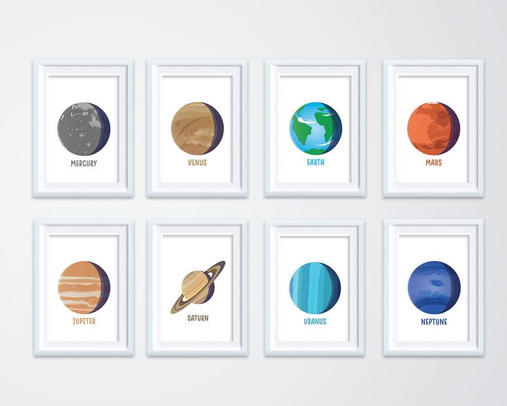 Solar System Poster | Solar System for Kids | Solar Systems for Homes | Nasa Space Poster | Kids Room Decoration | Printable Wall Art by ThisIsAnde on Etsy