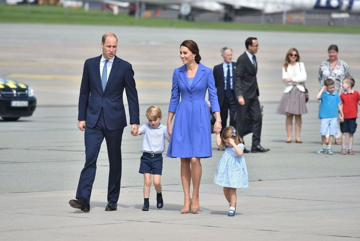 """<p><strong>When: July 19, 2017</strong><br />A stunning family photo of the Duke and Duchess of Cambridge arriving at Berlin Tegel Airport with their children in tow was released on Wednesday by <a rel=""""nofollow"""" href=""""https://twitter.com/KensingtonRoyal/status/887603823384113152"""">Kensington Palace</a> as the family continued their Royal tour of Poland and Germany. <br />George, 3, and Charlotte, 2, appeared a little shy as they walked down the tarmac, but Kate and William made a striking…"""