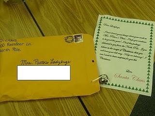 Polar Express - letter from Santa