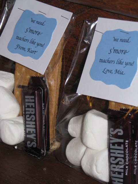 Teacher Appreciation gifts ~ Visit and Like Special Moments by Joelle on FB ~ Party Planning and homemade crafts and gifts!