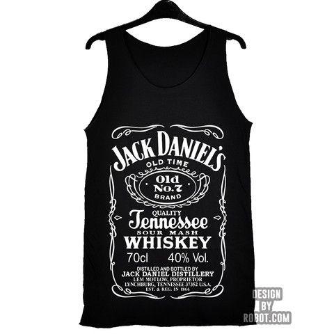 Jack Daniels Tank Top – DESIGNBYROBOT