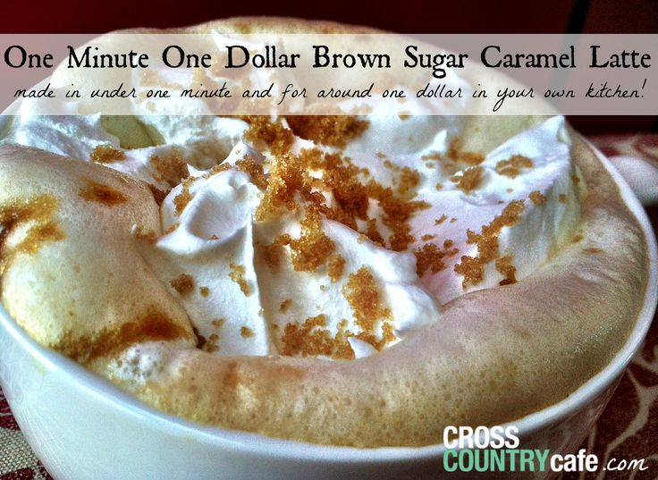 How to make a Brown Sugar Caramel Latte using Keurig Kcup coffee, five simple words-  You. Must. Try. This. Today.