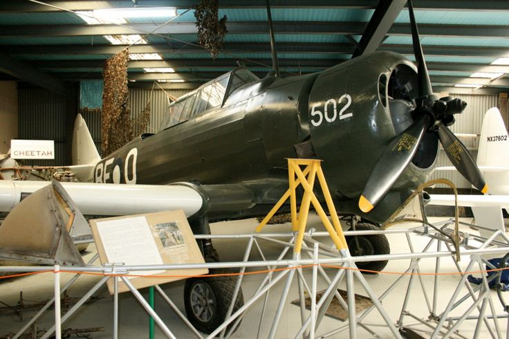 CAC Wirraway A20-502 - produced in 1942 it went on to fly over 1,100 hours and 953 sorties with the RAAF during World War Two, many over Japanese held territory whilst based in Bouganville from 1943 to 1945 (photo taken at the Ballarat Aviation Museum in 2011)