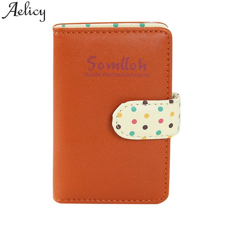 Aelicy High Quality Women Business Card Holder Wallet Bank Credit Card Case ID Holders Women Card Holder porte carte