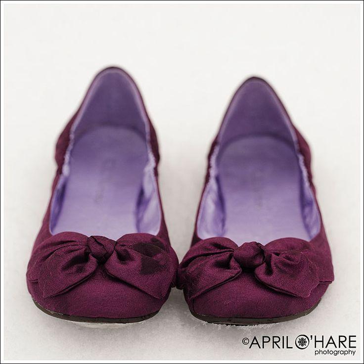 plum shoes