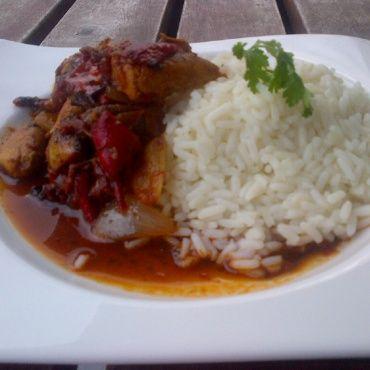 Chicken goulash