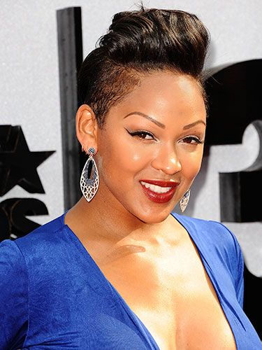 25 best ideas about megan good haircut on pinterest megan good ravaughn hairstyles and short - Coupe courte femme black ...