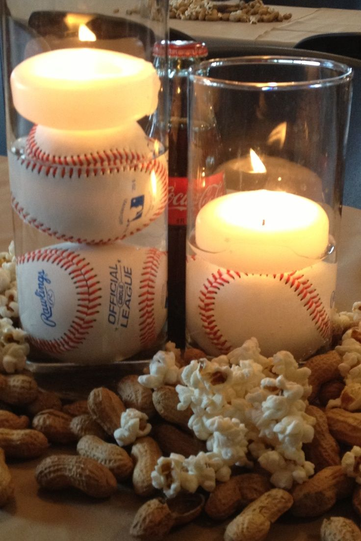 1000 Ideas About Baseball Wedding Centerpieces On
