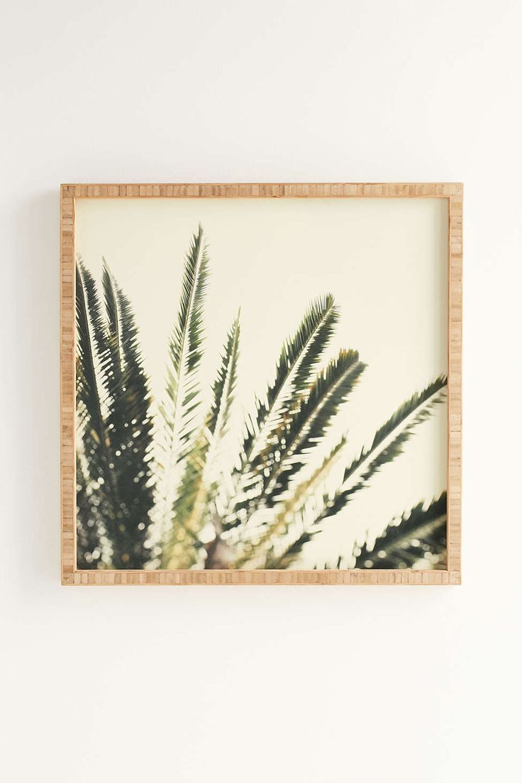Chelsea Victoria For Deny Palms No. 2 Framed Wall Art