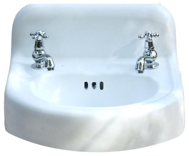 Vintage Wall Sinks The Elegant Vintage Wall Mount Bathroom Sink