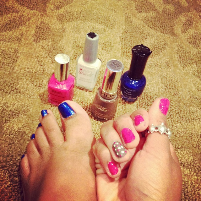 The only time a woman is useless is when She's setting her nails to dry;)