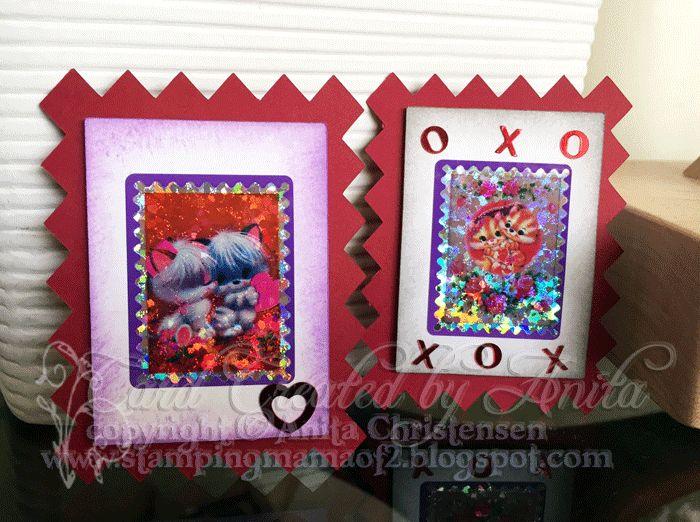 #valentine #hearts #MyScrapChick #card #red