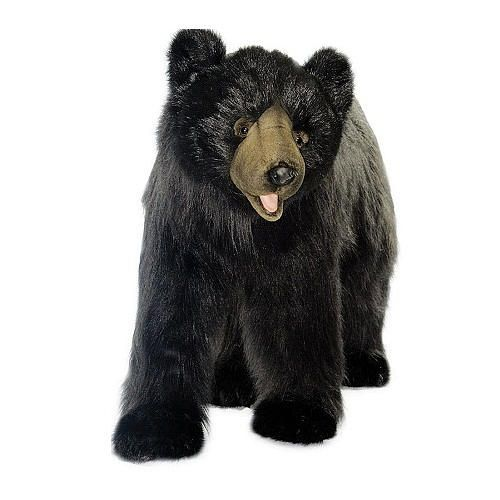 Hansa Large Black Bear Hansa Toys Jumbo Sized Fao