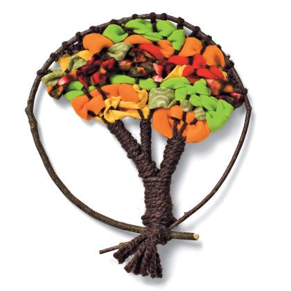 How to Weave an Autumn Tree | Crafts | Spoonful