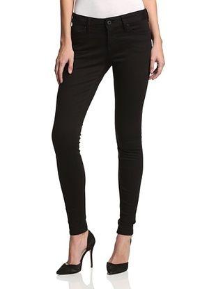 55% OFF MODERNSAINTS Women's Knit Skinny Jean (Black Rinse)
