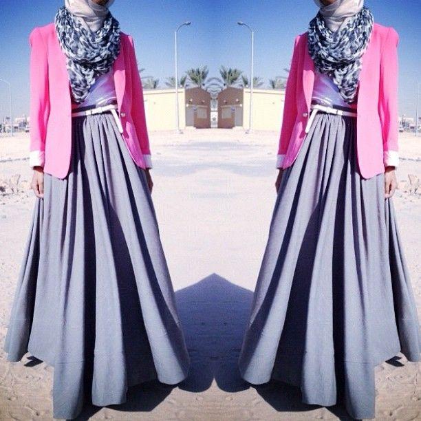 Blazer ❤ hijab style