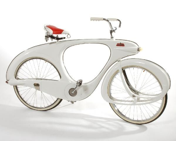 Bowden White Reproduction Spacelander Bicycle Bowden Spacelander
