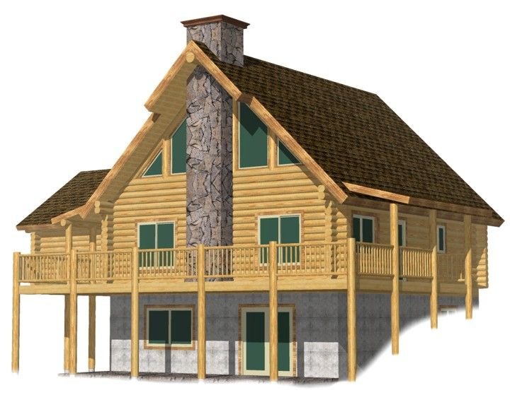 Rock cr log cabin kits prices garage bavarian alps for Chalet cabin kits