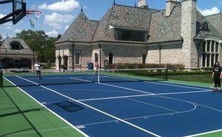 best 25 backyard tennis court ideas on pinterest