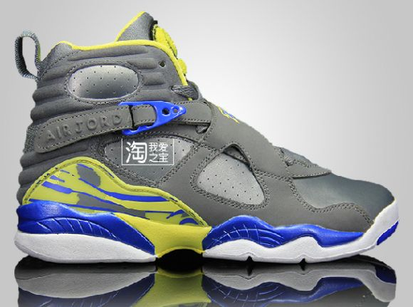Air Jordan 8 Retro Laney First Look