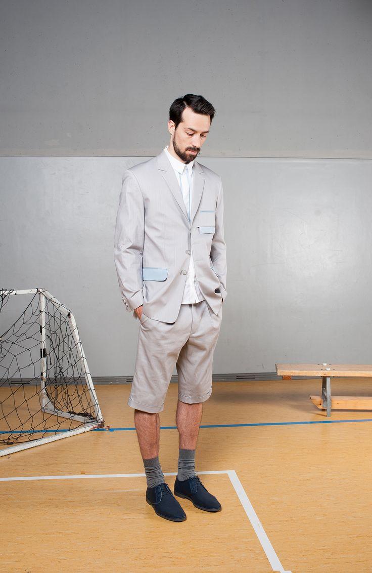 MEI KAWA | Hidden Button Line Suit Blazer