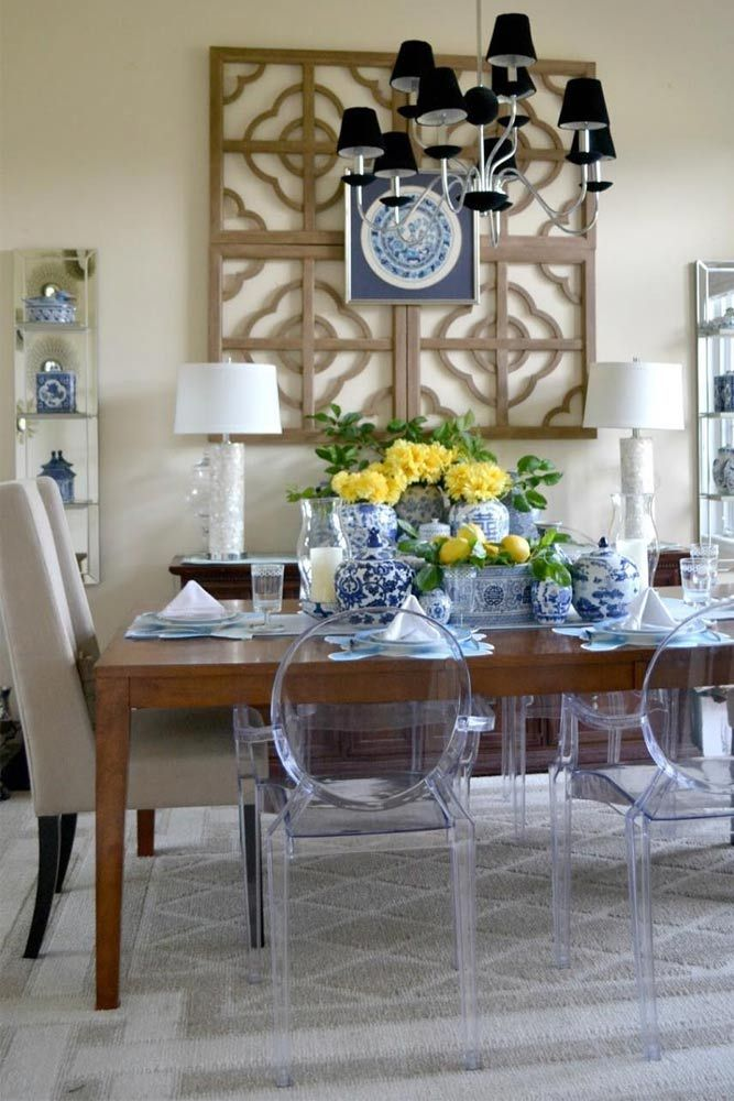 Here for you 24 elegant dining room sets that can add glam into your home. ★ See more: http://glaminati.com/elegant-dining-room-sets-inspiration/?utm_source=Pinterest&utm_medium=Social&utm_campaign=elegant-dining-room-sets-inspiration&utm_content=photo9