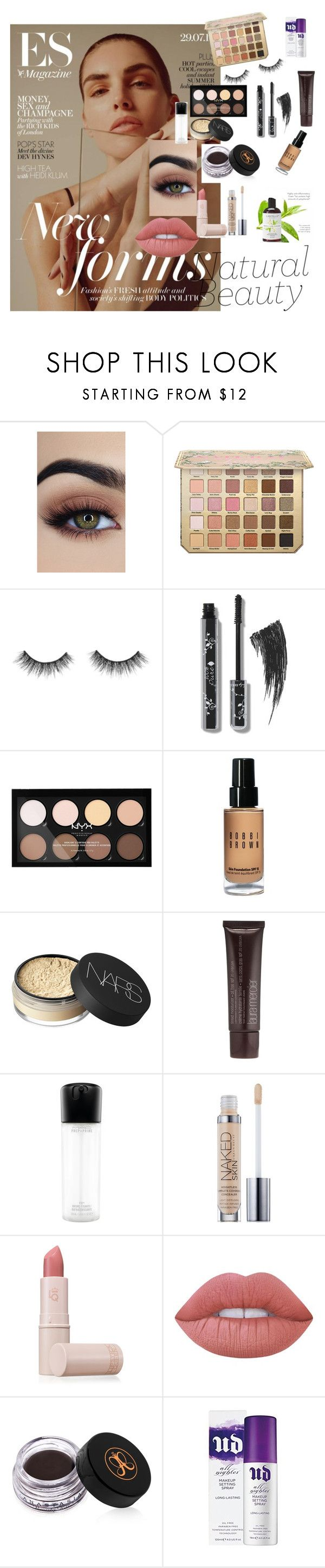 """Natural makeup look "" by xenaxoxox ❤ liked on Polyvore featuring beauty, NYX, Bobbi Brown Cosmetics, NARS Cosmetics, Laura Mercier, MAC Cosmetics, Urban Decay, Lipstick Queen, Lime Crime and Anastasia Beverly Hills"