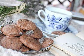 žít vege: levandulové sušenky